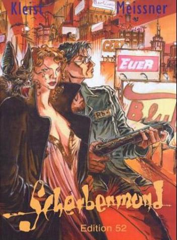 Berlinoir 1: Scherbenmund - Das Cover