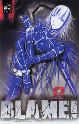 Blame 8 - Das Cover