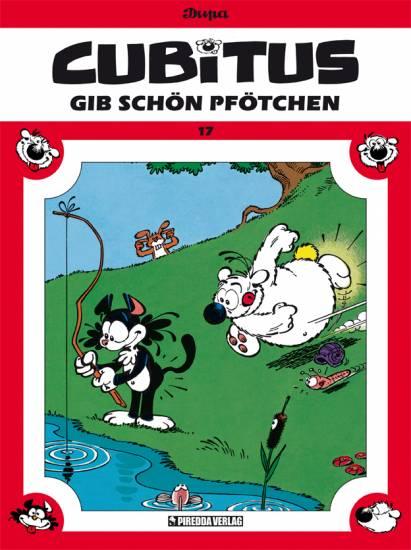 Cubitus 17: Gib schön Pfötchen - Das Cover