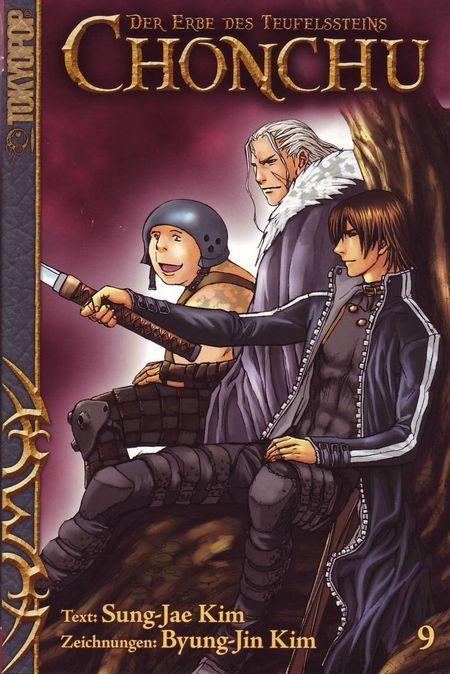 Chonchu - Der Erbe des Teufelsteins 9 - Das Cover