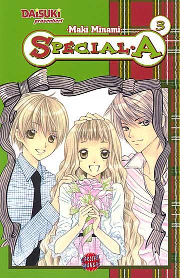 Special A 3 - Das Cover