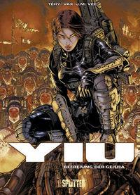 Yiu 5: Befreiung der Geisha - Das Cover