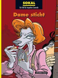 Ein Fall für Inspektor Canardo 17: Dame sticht - Das Cover