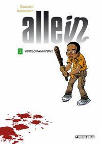 Allein 1: Verschwunden! - Das Cover