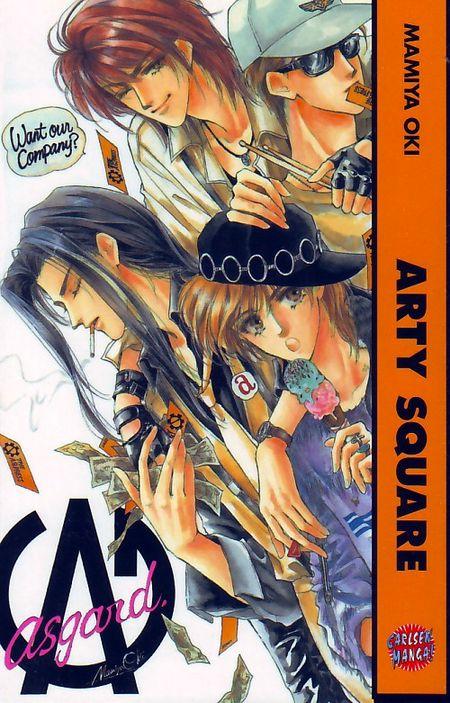 Arty Square - Das Cover