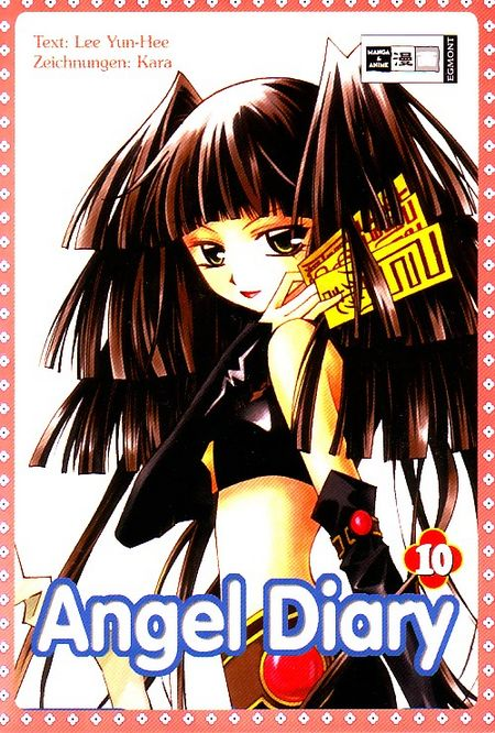Angel Diary 10 - Das Cover