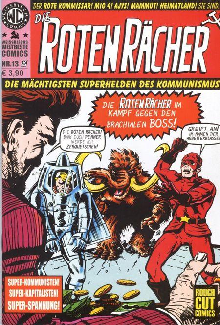 Weissblechs Weltbeste Comics 13  - Das Cover