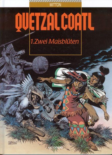 Quetzalcoatl Band 1 - 6 - Das Cover
