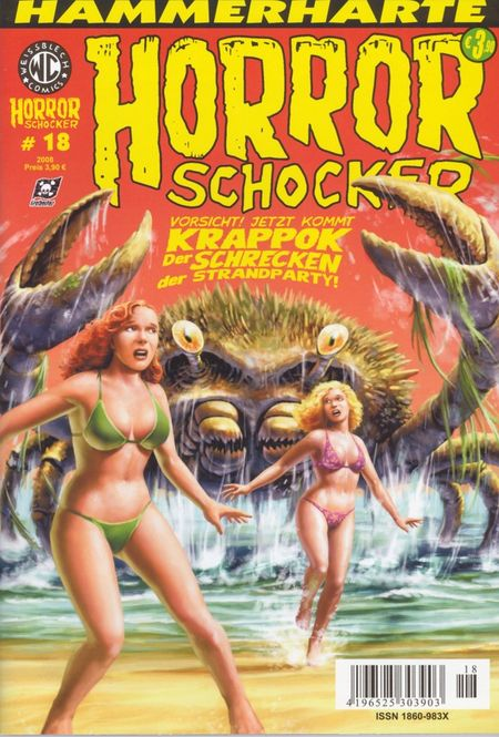 Horrorschocker 18 - Das Cover