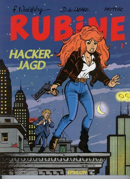 Rubine 1: Hackerjagd - Das Cover