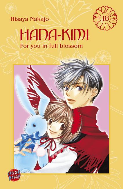 Hana-Kimi 18 - Das Cover
