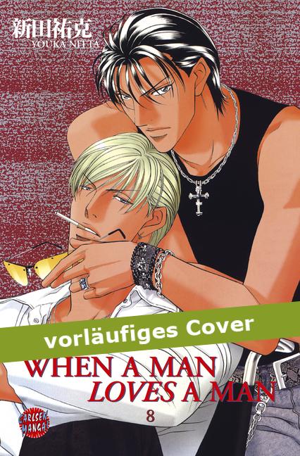 When a man loves a man 8 - Das Cover