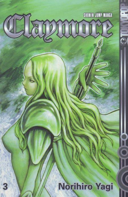 Claymore 3 - Das Cover