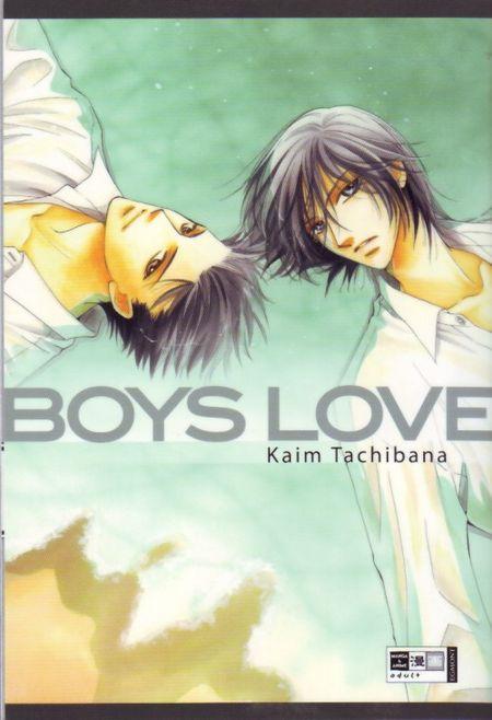 Boys Love - Das Cover