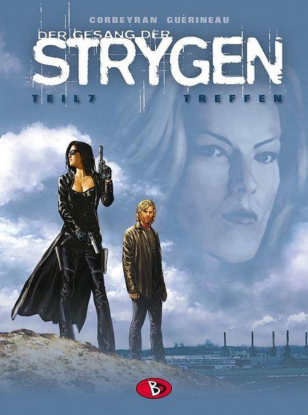 Der Gesang der Strygen 7: Treffen - Das Cover