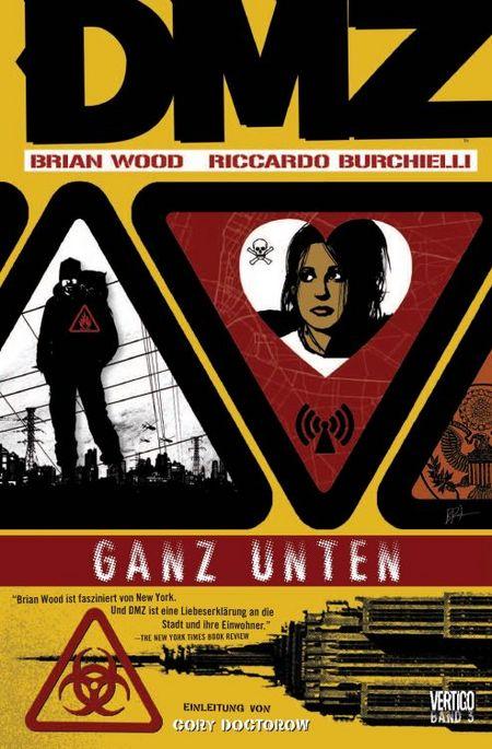 DMZ 3: Ganz unten - Das Cover
