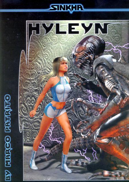Sinkha 1: Hyleyn - Das Cover