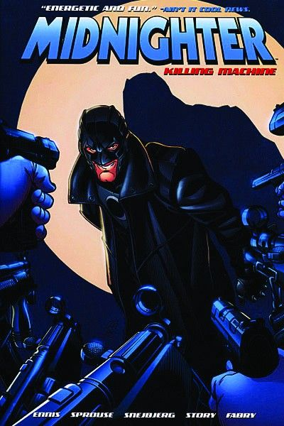 Midnighter: Killing Machine - Das Cover