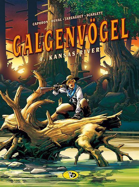 Galgenvögel 4: Kansas River - Das Cover