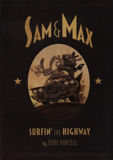 Sam & Max: Surfin' the Highway - Das Cover
