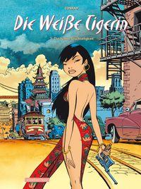 Die weiße Tigerin 3: Die fünfte Glückseligkeit - Das Cover