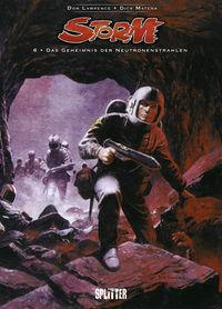 Storm 6: Das Geheimnis der Neutronenstrahlen - Das Cover