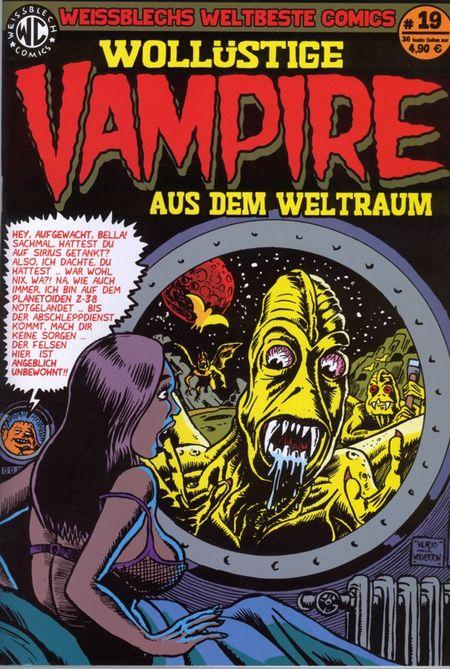 Weissblech weltbeste Comics 19 - Das Cover