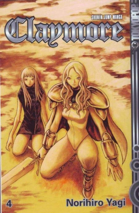 Claymore 4 - Das Cover