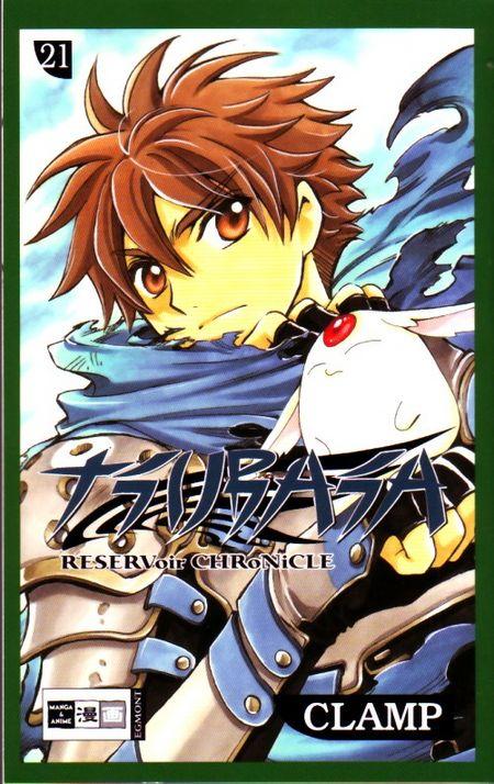 Tsubasa 21 - Das Cover