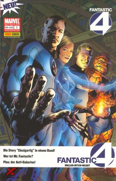 Fantastic Four 1: Einzigartig - Das Cover
