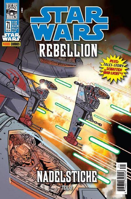 Star Wars 71: Rebellion / Tales - Das Cover
