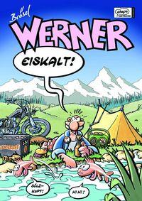 Werner Sammelbänder 4: Werner Eiskalt! - Das Cover