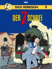 Dick Herrsion 9: Der 7. Schrei - Das Cover