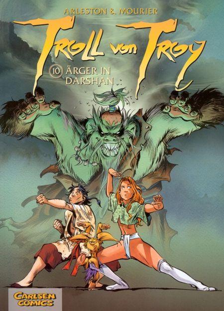 Troll von Troy 10: Ärger in Darshan - Das Cover