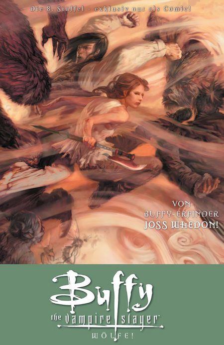 Buffy The Vampire Slayer 3: Wölfe! - Das Cover