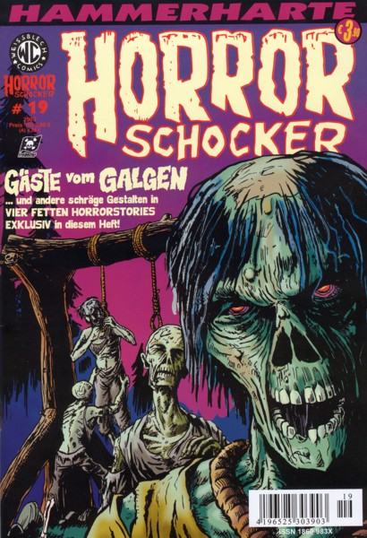 Horrorschocker 19 - Das Cover
