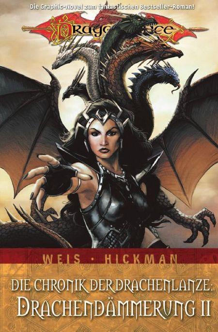 Dragonlance 7: Die Chronik der Drachenlanze III: Drachendämmerung 2 - Das Cover