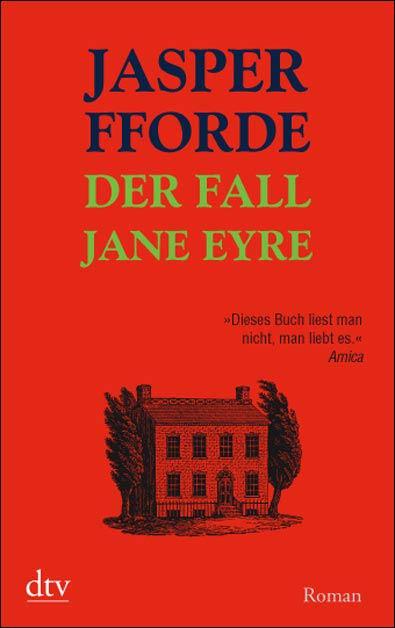 Der Fall Jane Eyre - Das Cover