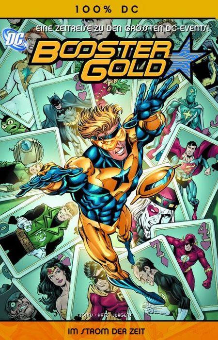 100 % DC 16: Booster Gold 1: Im Strom der Zeit - Das Cover