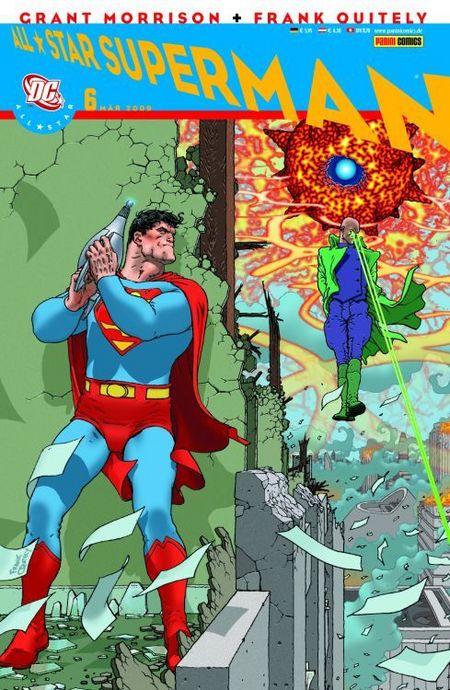 All Star Superman 6 - Das Cover