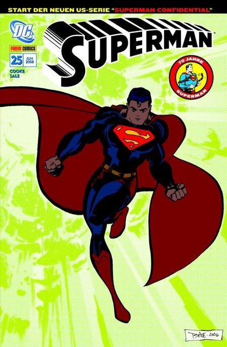 Superman Sonderband 25: Kryptonit - Das Cover