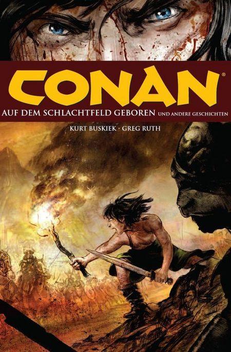 Conan 9: Auf dem Schlachtfeld geboren - Das Cover