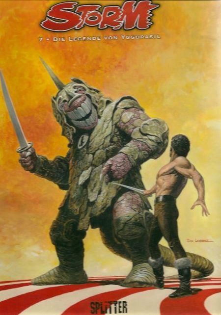 Storm 7: Die Legende von Yggdrasil - Das Cover