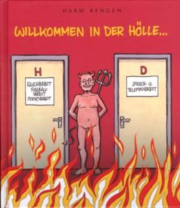 Willkommen in der Hölle... - Das Cover
