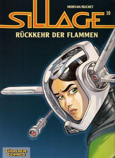 Sillage 10: Rückkehr der Flammen - Das Cover