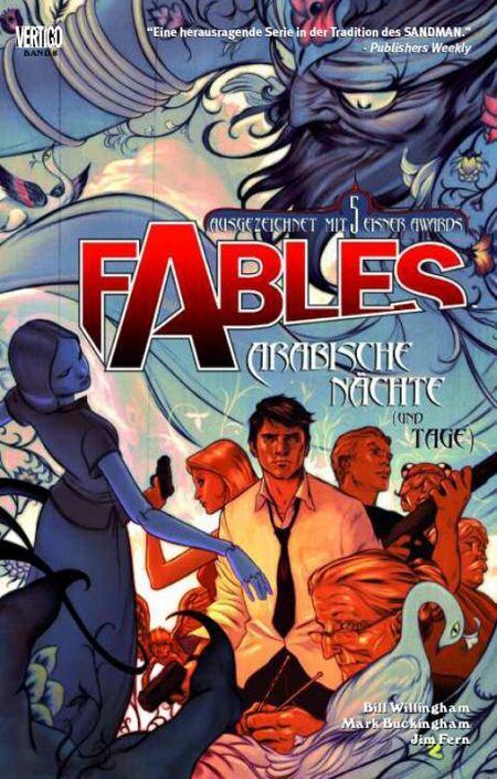 Fables 8 - Arabische Nächte und Tage - Das Cover