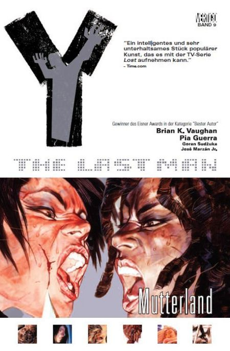 Y – The Last Man 9: Mutterland - Das Cover