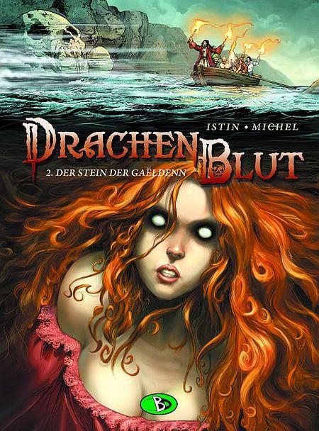 Drachenblut 2: Der Stein der Gaëldenn - Das Cover