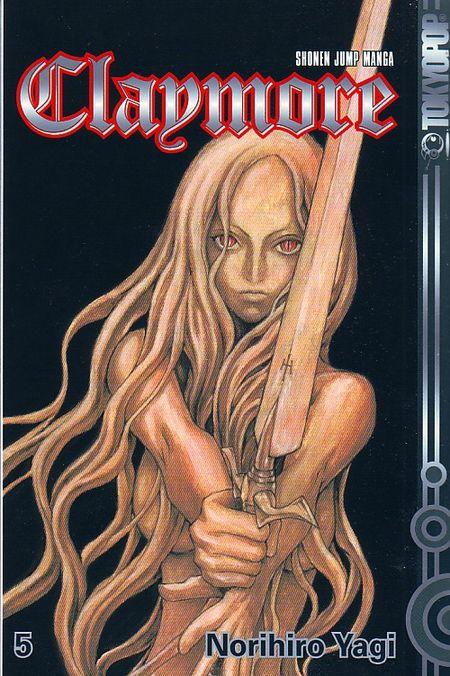 Claymore 5 - Das Cover