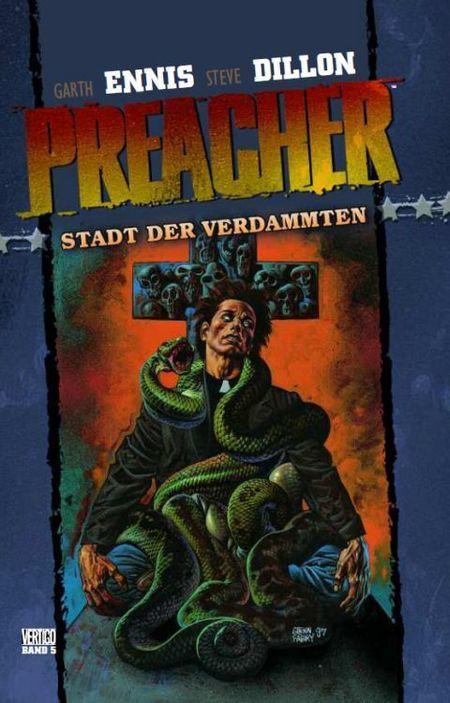 Preacher 5: Stadt der Verdammten  - Das Cover